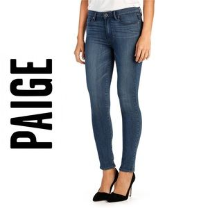 Paige • Peg Skinny Ankle Stretchy Jeans